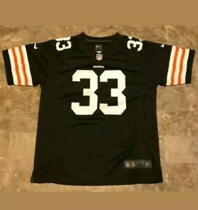 NFL On Field Cleveland Browns Trent Richardson Jersey #33 Youth L New W/Tag (RL3