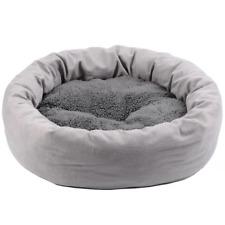 Donut Pet Cat Dog Calming Velvet Comfortable Sleeping Bed Soft Winter Pet Beds