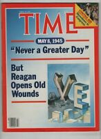 Time Magazine Ronald Reagan Opens Old Wounds April 29, 1985 060920nonr