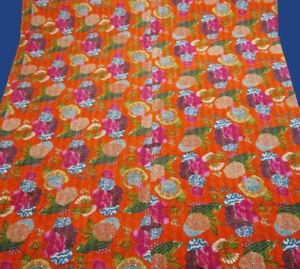 sheet bedsheet kantha blanket king queen Indian Vintage Kantha Quilt Handmade Co