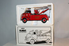 First Gear, 1952 GMC Cabover Wrecker, Chicago Fire Dept,  Nice with Box