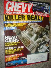 May 2009 CHEVY High Performance Magazine Dart's New 372ci SHP Shot-Block
