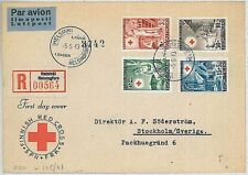 MEDICINE  RED CROSS : FINLAND -  POSTAL HISTORY-  FDC COVER : 1949