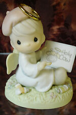 "Precious Moments #272558 ""I Think You're Just Divine"" -Angel w/cow picture- NEW"