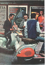 60's SCOOTER  POSTER. Mod.