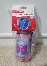 Skip Hop Zoo Straw Bottle - Butterfly 12 oz / 350ml