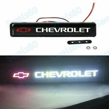 Led Light Front Grille Badge Illuminated Decal Car Sticker For Chevrolet Logo