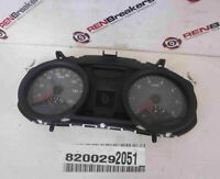 Renault Megane 2002-2008 Instrument Panel Dials Gauges Dials Clocks Black