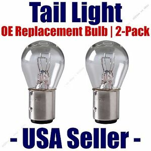 Tail Light Bulb 2pk-OE Replacement Fits Listed Porsche & Renault Vehicles - 1157