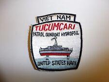 b7809 US Navy Vietnam Tucumcari Patrol Gunboat Hydrofoil ir27a