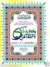 Holy Quran:Anglo Transliteration, Tajweed,English Translation,Card Rehal Box