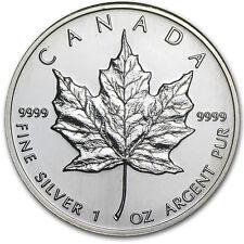 1995 Canada 1 oz Silver Maple Leaf BU - SKU #11059