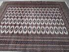 grand tapis large rug tekke pendi turkmene turkmen beige 270X193 cm
