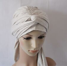 Volume turban, full head covering, head wrap, hair wrap, chemo head wear