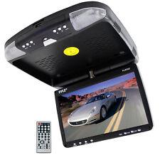 NEW Pyle PLRD92 9 Roof Mount Monitor DVD CD USB SD Player FM Modulator & Remote