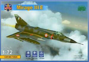 Modelsvit Models 1/72 DASSAULT MIRAGE IIIE French Fighter-Bomber