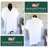 VINEYARD VINES Womens Golf Performance Short Sleeve Polo Shirt Size XL NEW W/TAG