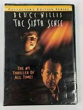 The Sixth Sense Dvd 1999 6Th Sence The Movie Bruce Willis, Haley Joel Osment New