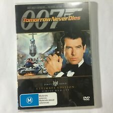 TOMORROW NEVER DIES - ULTIMATE ED - DVD 2 DISCS - JAMES BOND 007 - R4 - VGC