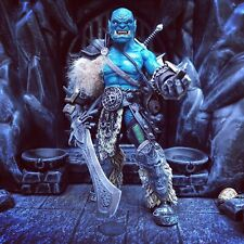 Tundra Orc Mythic Legions Custom Figure by Mythic Customs Frost Orc