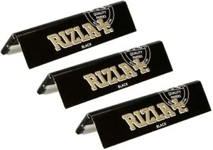 15 BOOKLETS RIZLA BLACK KING SIZE SLIM BEST PRICE!!! LIMITED EDITION