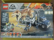 New LEGO 75933 JURASSIC WORLD FALLEN KINGDOM T. REX TRANSPORT