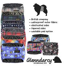 Glenndarcy Male Dog Belly Band Belt Nappy Diaper | Waterproof Fabric