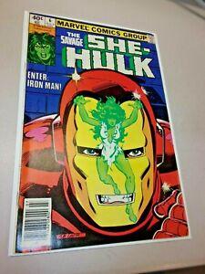 Savage She-Hulk #6 (Marvel, 1980) IRON MAN COVER High Grade Key