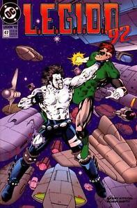 L.E.G.I.O.N. '92 #47 (Dec 1992) - Green Lantern, Legion of Super-Heroes, Lobo