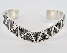 Retired James Avery Sterling African Cuff 32 Grams
