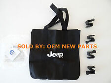 2014-2016 Jeep Cherokee & Grand Cherokee Bag Holder Kit 4 Clips & Grocery Bag