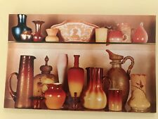 American Glass Collection Limric Bennington Museum Vermont Postcard Real Photo