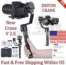 Zhiyun Crane V2 Professional 3-Axis Handheld Stabiliser For Mirrorless DSLR Cams