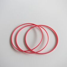 Plastic Red Gasket 0.9mm Height Watch Back Cover Case O-Ring 18mm-33mm G668F