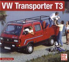 Book - VW Transporter T3 1979-92 Minibus Van Camper Kombi - Steinke - Brochures
