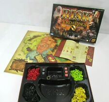 RISK Lord Of The Rings TRILOGY Edition 2003 Board Game COMPLETE with RING LOTR