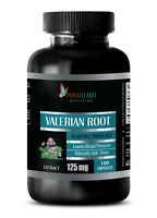 Valerian Root Powder - VALERIAN ROOT EXTRACT 125mg - Root For Digestion 100 Caps
