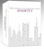 Sex and the City Complete Series Collection Seasons 1-6 (DVD Box Set 17-Disc)