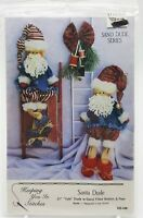 Country Primitive Christmas Santa Dolls Pattern New 1991