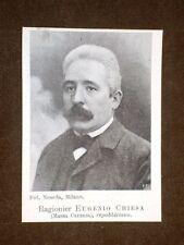 Deputato Ragioniere Eugenio Chiesa di Massa Carrara