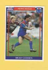 1993 Regina Rugby League Trading Card #4 Brad Godden Newcastle Knights