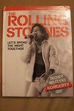 THE ROLLING STONES - ikony muzyki - DVD - POLISH RELEASE