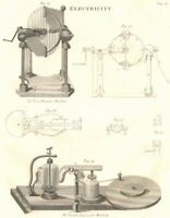 SCIENCE. Electricity. Dr Van Marum's Machine; Dr Reid's Improved Machine 1830