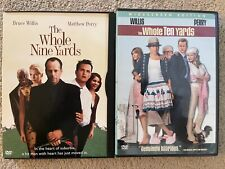 The Whole Nine Yards & The Whole Ten Yards DVDs Bruce Willis