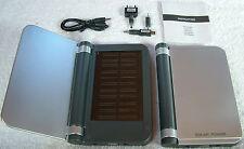 2 x Solar Power Ladegerät Handy Extern Akku Power Pack USB Netz ovp.NEU!