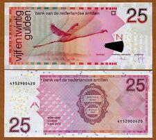 Netherlands Antilles 25 Gulden, 2012, Pick 29 (29g), UNC