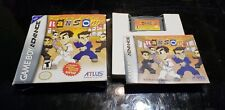 River City Ransom EX (Nintendo Game Boy Advance, 2004) gba Atlus COMPLETE IN BOX
