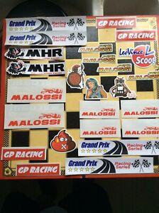 Scooter stickers Vespa Lambretta Piaggio Honda Kawasaki Yamaha Suzuki Gilera