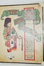 Pre WW2 British The Red Hackle 42nd Black Watch April 1931 Reference Book