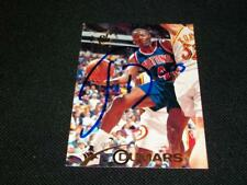 Detroit Pistons HOF Joe Dumars Auto Signed 1994/95 Topps Sta Club Card #83  N